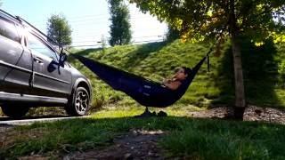 Set up Eno hammock anywhere easy!