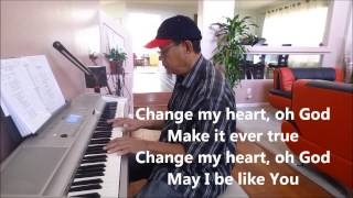 Change My Heart - Eddie Espinosa (COVER) By Josil Tayson Live Piano