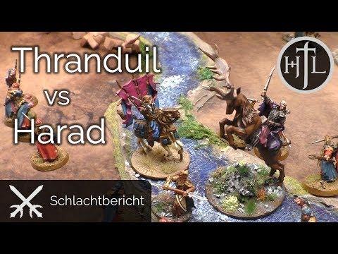 Battlereport - Düsterwald vs. Harad (Mittelerde Tabletop / Hobbit / Herr der Ringe)