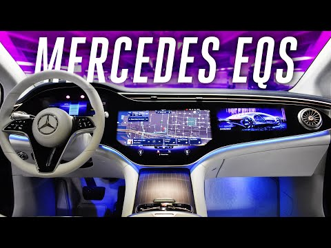 2022 Mercedes-Benz EQS: an electric S-Class with over 400 miles of range