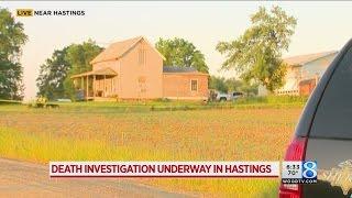Deputies investigating death south of Hastings