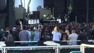 Bullet For My Valentine - Raising Hell Live @ Summers Last Stand Tour 2015 Albuquerque, New Mexico