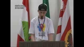 Pronunciamento Vereador Mirim Luis Felipe Stein 27/09/2013
