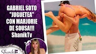 "GABRIEL SOTO ""JUGUETEA"" CON MARJORIE DE SOUSA!!! ShanikTv"