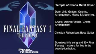 Temple of Chaos (Final Fantasy) Metal Cover Feat. Crystal Dennis & Christian Richardson