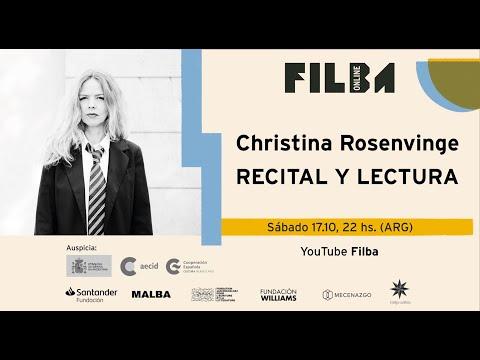 Vidéo de Christina Rosenvinge