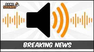 Breaking News - Sound Effect [HD]