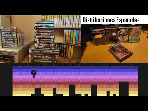 Distribuidoras de Software españolas en los 80 (II) --- Commodore 64 Real 50Hz