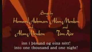 Aladdin (icelandic) Arabian Nights +subs&translation