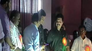 Felicitations to munch star singer Adarsh at my school Sabarigiri