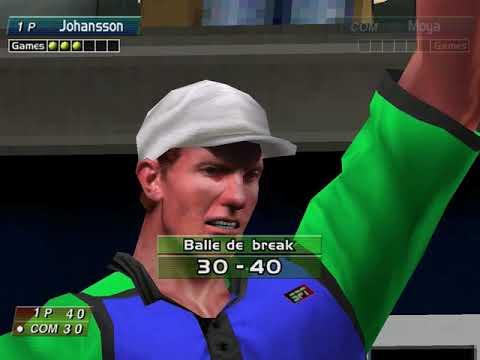 Virtua Tennis (Arcade Mode: Thomas Johansson) (Hitmaker, Strangelite) (Windows) [2002] [PC Longplay]