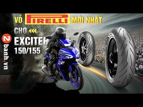 Lên vỏ Pirelli nào cho Exciter 150/155 thì phù hợp?
