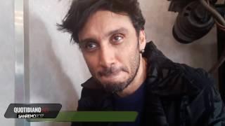 Sanremo 2017, intervista a Fabrizio Moro