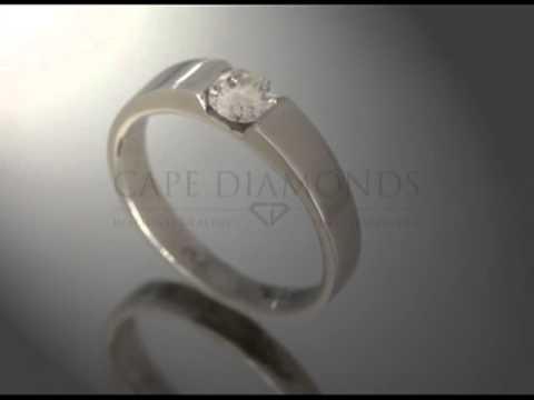 Soul ring,joel graham,bold platinum band,ideal cut diamond,engagement ring