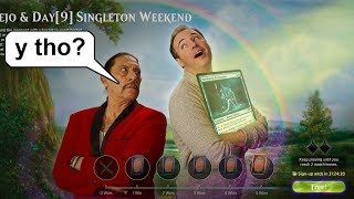 The Greatest Match of MTG Singleton Ever - Petition Deez Nuts