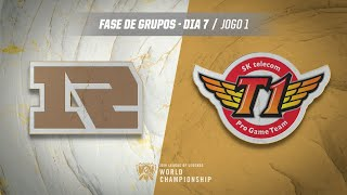Mundial 2019: Fase de Grupos - Dia 7 | Royal Never Give Up x SK Telecom T1 (Jogo 1)