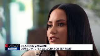 D'Latinos Magazine con mensaje de reflexión ante recaída de Demi Lovato