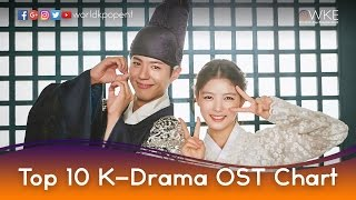Top 10 K-Drama OST Chart (September 19 - 25, 2016)