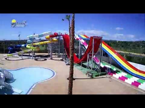 Aguaparks - Timelapse construcción atracción acuática en Mallorca - Blau Comunicación