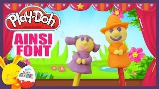 Ainsi font font font les petites marionnettes - Comptine en pâte à modeler Play-Doh