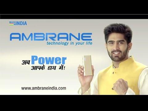 AmbraneIndia Diwali TVC - Ab Power Apke Haath Me - Vijender Singh