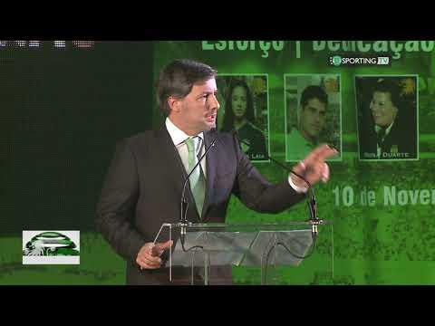 Discurso Presidente Bruno de Carvalho na Gala Rugidos de Leão 2017