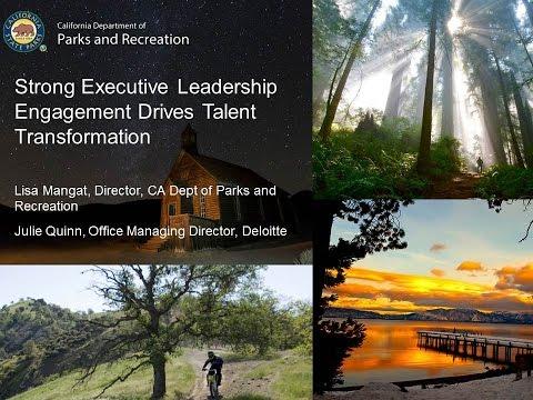 GTI2017 Sn19a: Executive Leadership Drives Talent Transformation - Deloitte