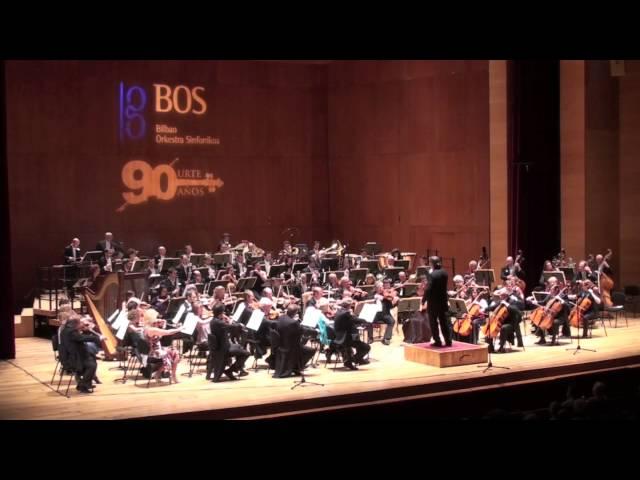 Fragmento del Concierto de Navidad de 2012 de la Orquesta Sinfónica de Bilbao.
