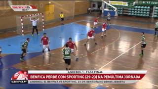 SL Benfica 23 - 29 Sporting CP