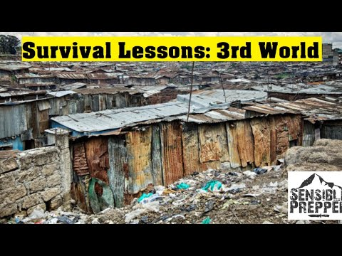 Survival Lessons from 3rd World Countries