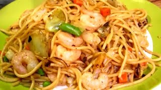 How to make Shrimp Lo Mein - Easy Chinese Food Recipe