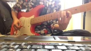 さなちゃんねる『RED』king crimson弾いてみた guitar cover