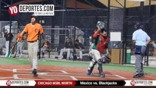 Mexico vs. Blackjacks Chicago North Men's Senior Baseball League