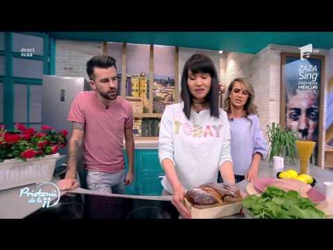 """Andreea Moldovan gătește """"Piept de pui cu lămâie și paste integrale"""""""