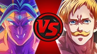 Escanor VS. Broly [+18] | Batalha Digital 02 ft. Yondax