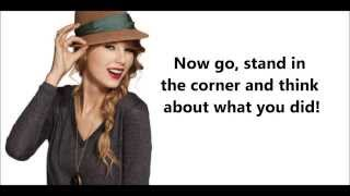 Better Than Revenge - Taylor Swift (lyric video)