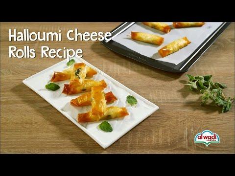 Halloumi Cheese Rolls Recipe