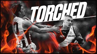 Torched: The best baulks, bursts and fends | Round 19, 2018 | AFL