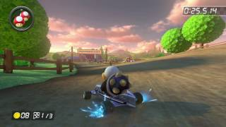 Wii Moo Moo Meadows - 1:20.435 - FastRMX ‹3 (Mario Kart 8 World Record)
