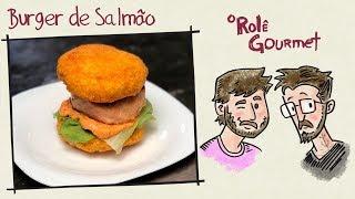 Burger De Salmão da Hipnose