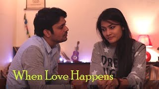Hindi Romantic Short Film – When Love Happens | Fight between Live-in Relationship Couples
