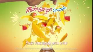 Snapple - Mango Flavor Explosion (0:06)