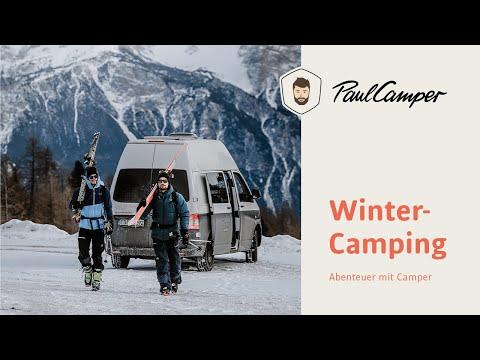 Wintercamping 🚐❄️ Abenteuer im Schnee mit PaulCamper