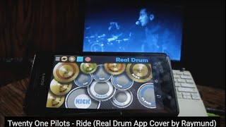 Twenty One Pilots - Ride (Real Drum App Cover by Raymund)