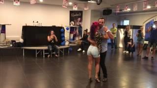 Workshop  100% Kizomba parte 1  Ana Oliveira e Paulo Samurai