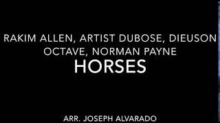 Horses - PnB Rock, Kodak, A Boogie (arr. - Sibelius Playback) #98