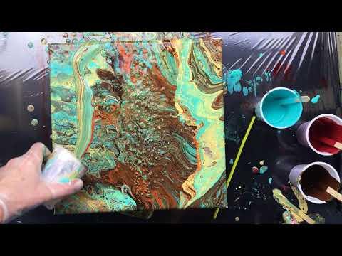 ( 532 ) Powertex 3D balls part 2 the pour