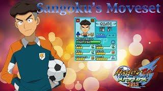 Sangoku's Moveset In Inazuma Eleven Go Strikers 2013