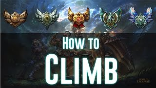 Tips For Climbing In Ranked Solo Queue | Low Elo Tips and Tricks