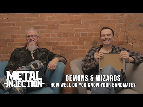 "DEMONS & WIZARDS Play ""How Well Do You Know Your Bandmate"" 